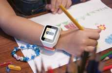 Location-Tracking Child Wearables - The POMO 'Waffle' Kid Watch Reinforces Good Habits