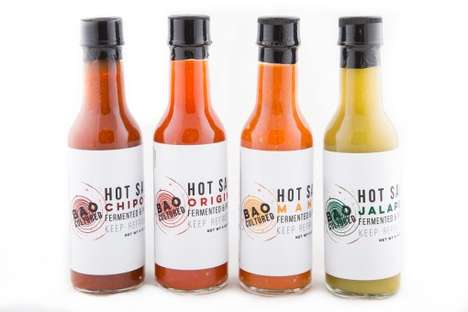 Fermented Hot Sauces - BAO's Healthy Hot Sauce Products are Cultured for Easy Digestion