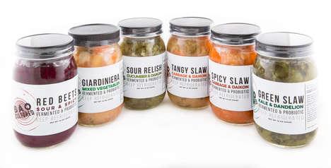 Fermented Vegetable Jars