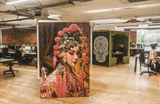Culturally Dynamic Office Interiors - This Travel Office's Design Reflects the Company's Purpose