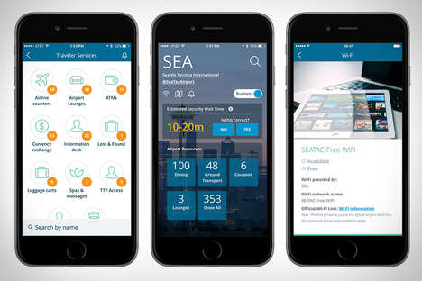 Airport Information Apps - The 'FlightSpeak' App Gets Users Ready for Unfamiliar Terminals
