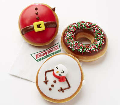 Yuletide Donut Collections - Krispy Kreme's 2016 Christmas Collection Features Festive Treats