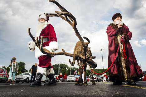 Santa Claus Conventions - Dina Litovsky Photographed the Discover Santa 2016 Convention