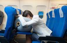 Inflatable Travel Sleep Pillows - The 'APUS Relax' Inflatable Pillow Makes Travel Sleeping Better