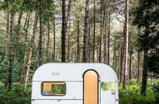 Transformed Design Caravans - Five AM Overhauled a Caravan to Function as a Mobile Work Space