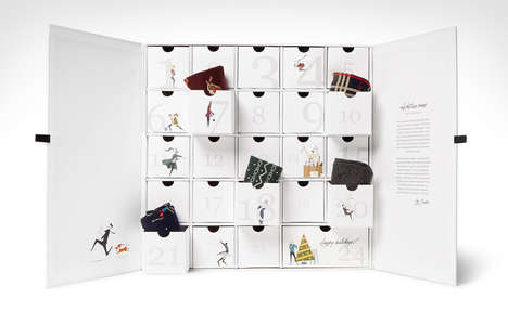 Fashionable Sock Advent Calendars