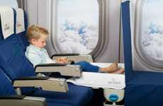 Child Airplane Seat Beds - The Jet Kids 'BedBox' Kid's Bag Makes an Airplane Seat into a Bed