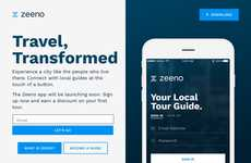Guide-Locating Travel Apps - 'Zeeno' Connects Users with Personal Travel Guides That are Compatible