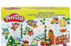 Modeling Clay Advent Calendars - This Toy Advent Calendar Inspires Kids to Create Each Day