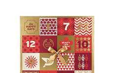 Skincare-Based Advent Calendars - The Body Shop is Providing Festive Beauty Advent Calendars
