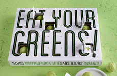 Green Chocolate Calendars - The 'Eat Your Greens' Advent Calendar Features Chocolate Sprouts