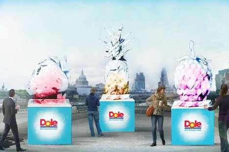 Smoothie Ice Sculptures