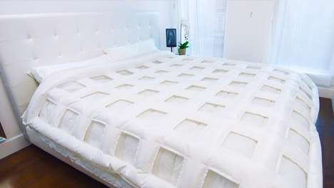 Self-Making Duvets - The SMARTDUVET Automatically Makes Beds