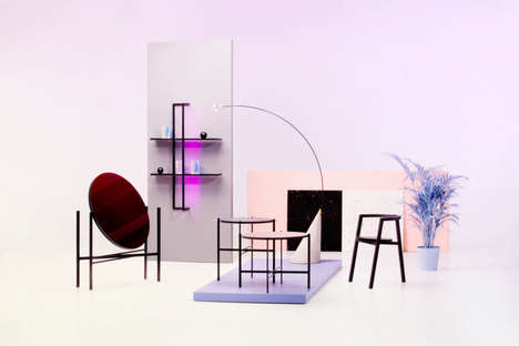 Subconscious-Inspired Homeware - Elina Ulvio's LSD Collection Stands for Lights, Shapes & Dimensions