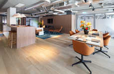 Club-Like Office Interiors