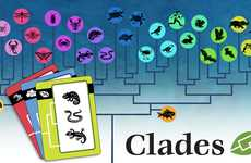 Evolutionary Animal Card Games - 'Clades' Helps Teach Evolution by Matching Animals