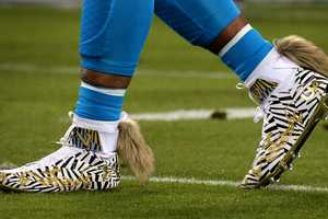 Football Cleat Charity Campaigns