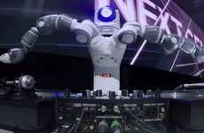 Industrial Robot DJs - 'Yumi' is a Production Line Robot That DJed the Release of the Ford Fiesta
