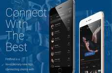 Social Fitness Professional Apps - 'Fittfind' Connects Clients to Personal Trainers that Suit Needs