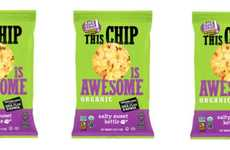 Whole Grain Popcorn Chips - The Awesome Organics Salty Sweet Kettle Chips are Crafted with Care