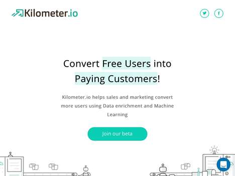 User-Analyzing Sales Tools