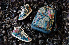 Refined Floral High-Tops