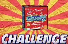 Board Game Challenge Videos - YouTubers 'Team Edge' Faced Off in the 'Quelf Challenge'