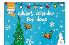 Dog Treat Advent Calendars - This Festive Gift for Pets from Dogalogue Supplies Christmas Dog Treats