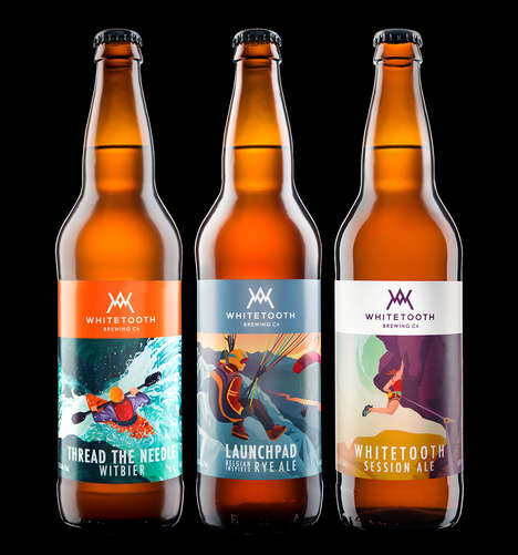 Outdoor Adventure-Themed Beers - The Whitetooth Brewing Company Was Inspired by a Ski Resort