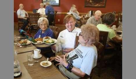Restaurant-Style Retirement Cafeterias