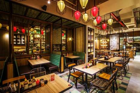 Vibrant Vietnamese Noodle Bars - The Newest 'NamNam' Noodle Bar is Located in Indonesia