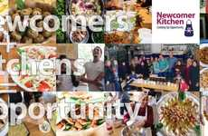 Refugee-Made Meal Services - 'Newcomer Kitchen' Provides Syrian Refugees with a Business Oportunity