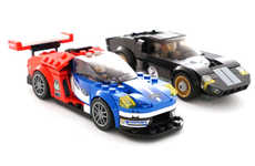 Iconic LEGO Race Cars - LEGO Paid Tribute to Ford's Victory by Recreating Its Popular GT Model