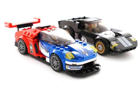 Iconic LEGO Race Cars