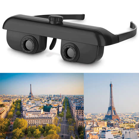 Wearable Travel Binoculars