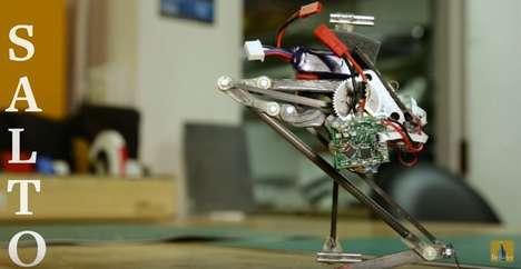Wall-Jumping Robots