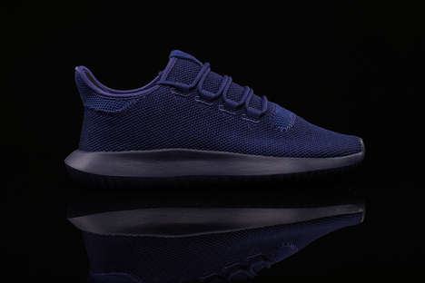 Simplified Knit Sneakers - These New Lightweight Navy adidas Were Inspired by Yeezy Silhouettes