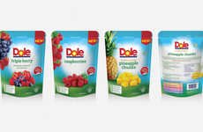 Prep-Free Packaged Fruits - The New Dole Packaged Fruit Pouches are Focused on Convenience