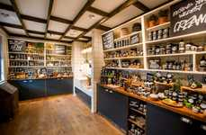 Rustic Soap Stores - Cosmetics Retailer Lush Has a New Store in Manchester, UK