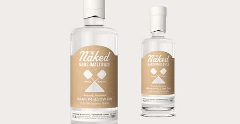 Small-Batch Marshmallow Collections - The Naked Marshmallow Co. Has a Revamped Brand Identity