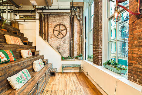 Modernized Rustic Co-Working Offices