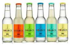 Spring Water Cocktail Mixers - The Llanllyr SOURCE Drink Mixers Create World-Class Cocktails