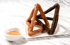 Interlocking Churro Desserts - The Dominique Ansel Bakery Japan Reimagines the Sweet Churro Form
