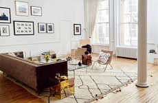 Apartment-Style Furniture Showrooms - The Apartment by the Line is Set Up Like a Real Home
