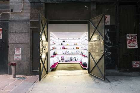 Clandestine Freight Elevator Museums
