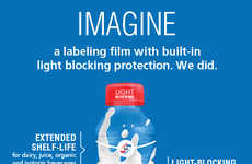 Light-Blocking Label Films - Klockner Pentaplast's 'Pentalabel eklipse' Blocks 99 Percent of Light