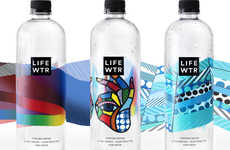 pH-Balanced Purified Waters - The PepsiCo 'LIFEWTR' Premium Waters Feature Emerging Artist Artwork
