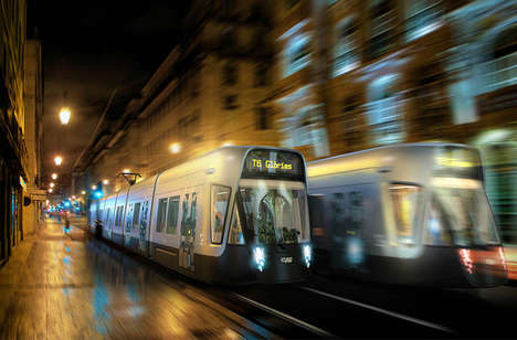 Artistically Inspired Transit Trains