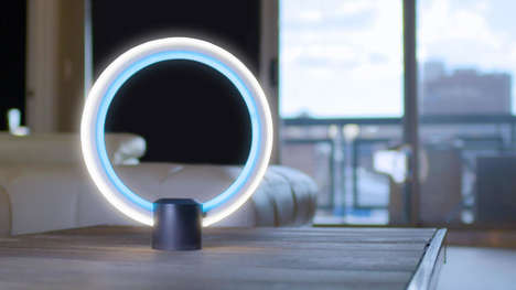 Virtual Assistant Lamps