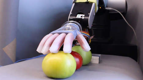 Gentle Sensuous Robots - Cornell University's 'Gentle Bot' Can Lightly Touch and Feel Objects